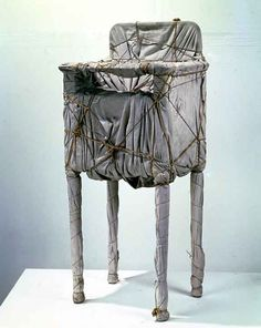 Christo - Wrapped Night Table 1960