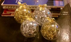 DIY christmas ornaments (including my instructions and where to buy the supplies)