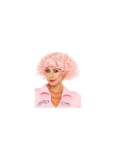 Channel your favorite character from the best movie around when you put on this Sexy Grease Pink Frenchie Women's Wig.