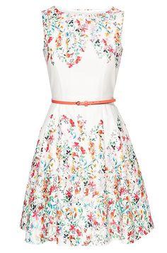 dress with floral print orsay mode pinterest. Black Bedroom Furniture Sets. Home Design Ideas