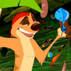 "*TIMON ~ The Lion King.""ooo the little green filled kind! Lion King 3, The Lion King 1994, Lion King Movie, King Simba, Disney Lion King, Walt Disney, Disney Love, Disney Magic, Disney Pixar"