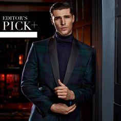 The standout suit. Jacket - T158233 Trouser - T158234