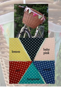Baby bike bunting - The Supermums Craft Fair