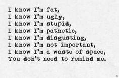 depression telling me im worthless - Google Search