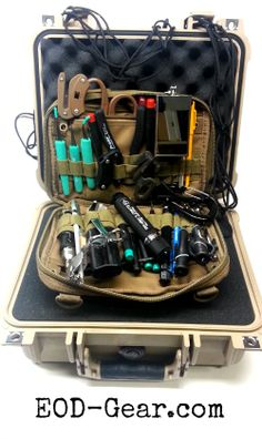 We've added Pelican Cases to our Custom EOD Tool Kit! Gerber coming soon! http://www.eod-gear.com/custom-eod-tool-kit/