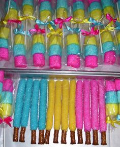 Marshmallow Pops Sugar Coated Marshmallow Pops Party Favors Birthday or Baby Shower Favors 1 dozen Fancy Birthday Party, Trolls Birthday Party, Troll Party, 6th Birthday Parties, Birthday Party Favors, 4th Birthday, Diy Birthday Treats, Jojo Siwa Birthday Cake, Candy Themed Party