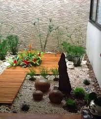 Jardines on pinterest zen google and rooftops - Jardin moderne zen villeurbanne ...