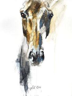Horse Black Chalk Drawing, Black chalk painting of a horse - mimi chato - - Horse Black Chalk Drawing, Peinture à la craie noire d'un cheval Horse Black Chalk Drawing, Chalk Black Painting Of A Horse Painted Horses, Horse Drawings, Art Drawings, Horse Head Drawing, Arte Equina, Art Amour, Inspiration Art, Equine Art, Horse Art