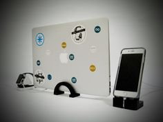 New to TikDok on Etsy: MacBook Air Docking Stand by TikDok (30.00 SGD)