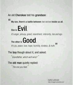 A Cherokee tale