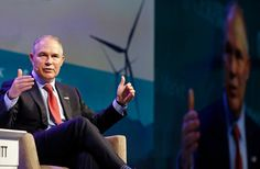 The statement by Scott Pruitt, the head of the Environmental Protection Agency, contradicts scientific consensus that carbon dioxide is heating the planet.