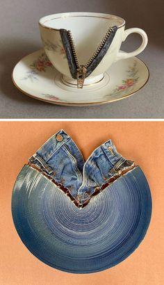Colossal Art, Porcelain Dinnerware, Pottery, Ceramics, Metal, Tableware, Art Things, Inspiration, Scary Art