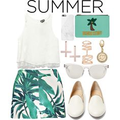 Summer Staples by joslynaurora on Polyvore featuring moda, Wet Seal, Boohoo, Charlotte Olympia, Emma Lomax, Repossi, Kate Spade, Kora, Dolce&Gabbana and Native Union