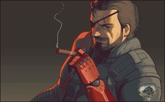 Metal Gear Solid V Pixel Artist: Einsbern Source: einsbern.tumblr.com