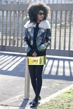 Milan Fashion Week Fall 2012  Julia Sarr-Jamois