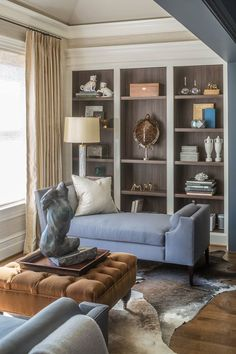 Christopher Patrick lined the shelves in the 2015 DC Design House with Knock on…