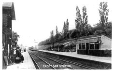 Croft Spa Railway Station Photo. Darlington - Eryholme. Northallerton Line | eBay
