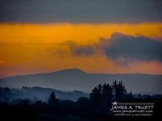 Misty Irish Countryside at Dawn. http://www.jamesatruett.com