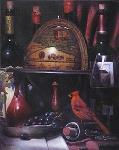 Takayuki-Harada_Red-Cardinal-With-Globe