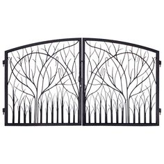 Iron Gates Entrance Nature Design - GI1401 ArtFactory.com