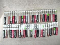 Rimmel Stay Glossy 6 Hour Lipgloss Lot of 50 Assorted Colors