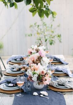 Spring Tablescape In