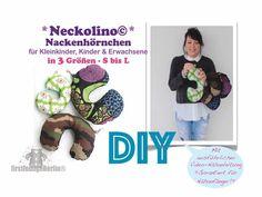 Neckolino Nackenhörchen *** freE-Book in 3 Größen S-L für die ganze Familie Nähen mit ausführlicher VIDEO-Nähanleitung - DIY Design von firstloungeberlin