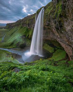 Seljalandsfoss waterfall in Iceland by Eric Girouard on 500px
