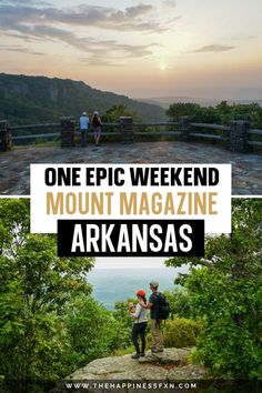 Visit Mount Magazine State Park near Paris, Arkansas! It makes for the perfect weekend mountain escape to reinvigorate yourself from the workweek. Get some fresh mountain air and explore the highest point in Arkansas! This article is for anyone who would like to visit Mount Magazine to camp, hike, take photos, and enjoy the sunset.