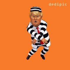 Orange Justice for the Orange Guy in the White House. Repeal and replace impeachment with Fornite Dance. Trump Funny Face, Donald Trump Funny, Anti Trump Cartoons, Funny Faces Images, Spaider Man, Funny Memes, Hilarious, Funny Caricatures, Costumes