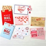There's still time to make a great Valentine! Let us help you get a head start with the Martha Stewart Crafts Love Notes Mail Box Set - Just add a sweet note and you are set! #marthastewartcrafts