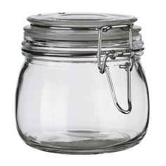 Bote de cristal con tapa SLOM