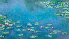 Download free image of Monet impressionist desktop wallpaper, Water Lilies HD background by The Art Institute of Chicago (Source) about monet, monet paintings, wallpaper, vintage illustration public domain, and public domain art monett 3933111
