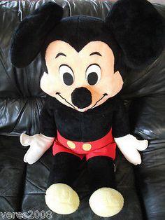 Vintage Mickey Mouse Walt Disney World California Plush