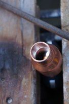 How to Make a Copper Reflux Still Reflux Still, Be Still, Door Handles, Copper, Alcohol, How To Make, Pictures, Door Knobs, Rubbing Alcohol