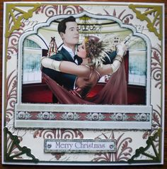 Made using Debbi Moore's Art Deco Christmas CD