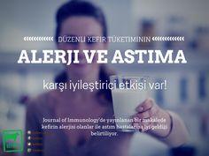 Düzenli olarak tüketilen ev yapımı kefirin alerji ve astım hastalıklarını iyileştirici etkisi bilimsel olarak kanıtlandı.