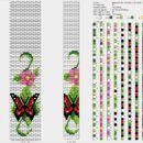 Схемки от Anna для вязаных жгутов из бисера