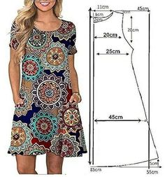 Посты по теме «одежда», добавл   Patrones De Vestido De Skirt Patterns Sewing, Clothing Patterns, Trendy Dresses, Casual Dresses, Diy Clothes, Clothes For Women, Hand Embroidery Dress, Tartan Dress, Batik Dress