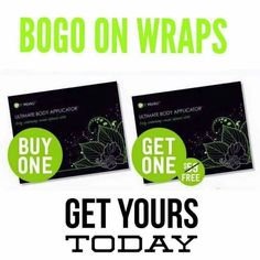 Did you know that our skinny wraps are made up of  botanical, all-natural lotion, and are both safe AND healthy for YOU?!   You can LITERALLY wrap anywhere from the neck down that you are wanting to tighten,  tone, firm  ! Our wraps even reduce the appearance of cellulite and stretch marks! Hello, life saver!  For the next 4 hours ONLY, you can buy 4 wraps for $59, get 4 FREE! ❤️ 228-235-5160