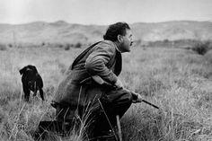 Ernest Hemingway, photographed by Robert Capa ca. 1958.
