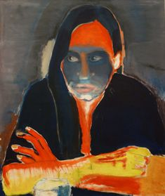 Genetic Longing, from The Eyes of Night Creatures, Marlene Dumas Marlene Dumas, Love Painting, Figure Painting, Painting & Drawing, Art And Illustration, Illustrations, Figurative Kunst, Kunst Online, South African Artists