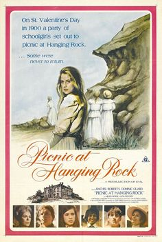 Picnic at Hanging Rock - poster for the 1975 film directed by Peter Weir