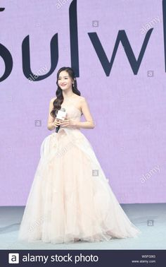 Download this stock image: Chinese singer Wu Xuanyi of South Korean-Chinese girl group Cosmic Girls and Chinese girl group Rocket Girls 101 attends a promotional event in Shangh - W5FG9G from Alamy's library of millions of high resolution stock photos, illustrations and vectors.