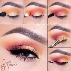 18 Trendy Makeup Ideas For Almond Eyes Each type of makeup has it is own purpose and it suits specific face shapes, skin tones, and eye shapes. One of the most beautiful eye shapes is almond eyes. Almond eyes are very beautiful attractive Almond Eye Makeup, Natural Eye Makeup, Eye Makeup Tips, Makeup Hacks, Makeup Trends, Eyeshadow Makeup, Makeup Ideas, Makeup Tutorials, Eyeliner Hacks