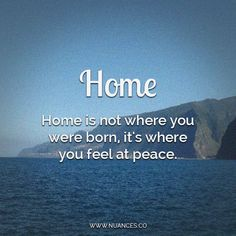 There is no place like #home :)  http://nuances.co/n/nuance/54635fb36f278eab7f8d84eb #Nuances
