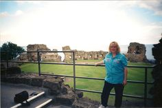 Me at St. Andrew's Castle, St. Andrew's Scotland