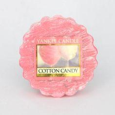 Tartelette COTTON CANDY Yankee Candle wax tart exclusivité US USA