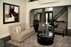 Living Room With High Ceilings And Interior Design By Mary Strong From Star Furniture In West Houston Tx 16666 Barker Springs Road