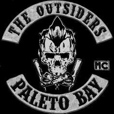 The Outsiders Mc Paleto Bay Biker Clubs, Motorcycle Clubs, Biker Patches, Pin And Patches, Biker Leather, Skull Art, Bike Life, Porsche Logo, Colours